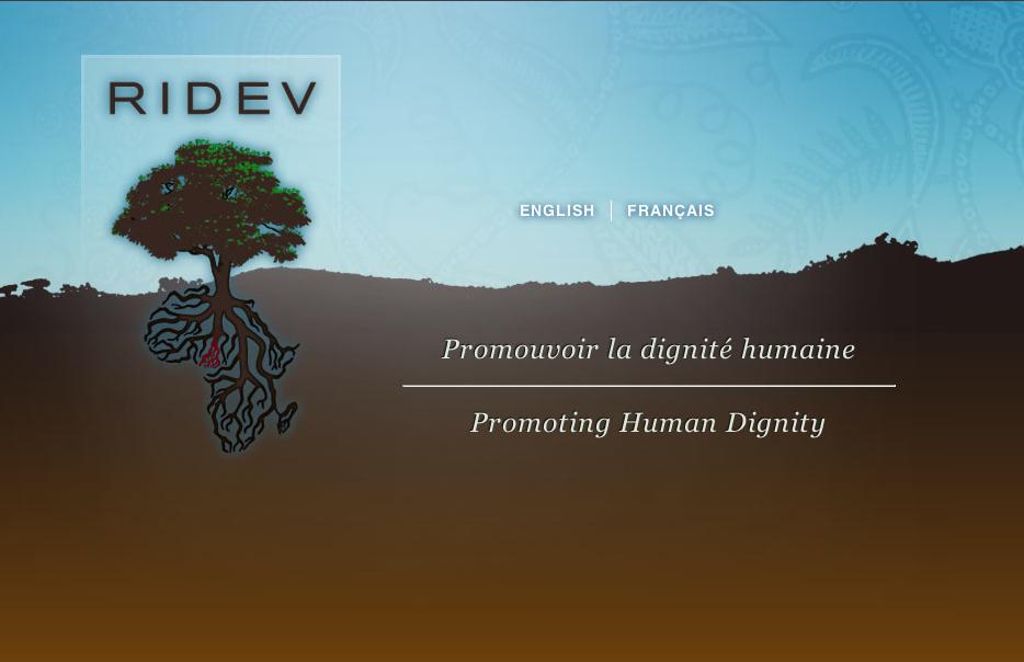 Ridev Website Homepage