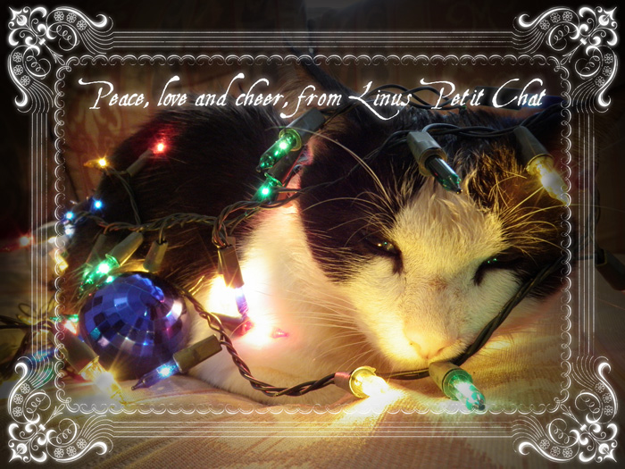 Happy holiday wishes from Linus
